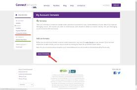how to add an inmate to your account connectnetwork