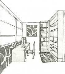 dessin chambre en perspective dessin de chambre en 3d newsindo co