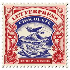 letter press los angeles craft chocolate letterpress chocolate