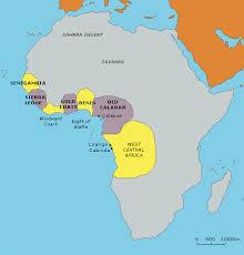 Moving From Coast To Interior Regions Of Sub Saharan Africa Africans Before Captivity North Carolina Digital History