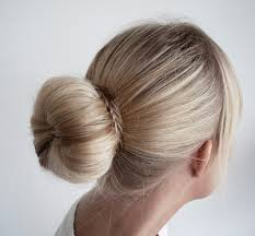 hairstyles with a hair donut concreate big perfect donut bun