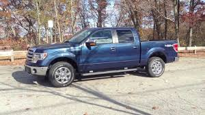 truck ford blue my new 2013 ford f 150 lariat walkaround youtube