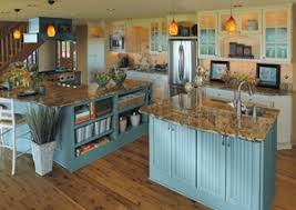 three cozy palates for country kitchens
