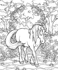 coloring pages fancy jewel horses coloring