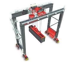 rubber tired gantry cranes konecranes com