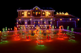 holiday light displays near me who s got the best neighborhood christmas light display in the