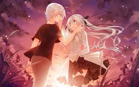 wallpaper anime lovers lovers in anime related air wallpapers and images wallpapers
