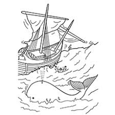 10 free printable jonah whale coloring pages