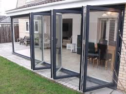 Accordion Glass Patio Doors Cost Wonderful Glass Folding Doors Cost Photos Ideas House Design