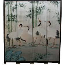 oriental room divider screen