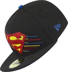 era swift color superman cap black red yellow