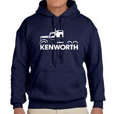 logo kenworth kenworth w900 truck classic outline design hoodie sweatshirt free