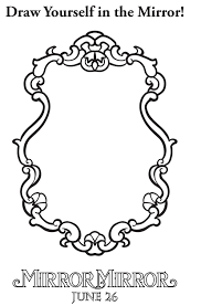 download free coloring pages from mirror mirror http po st