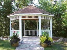 Backyard Stone Gazebo Best Way To Get The Perfect Backyard