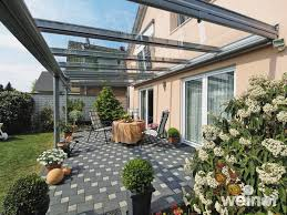 Glass Awnings For Doors Glass Verandas Patio Terrace U0026 Garden Verandas From Weinor
