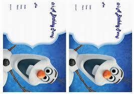 Frozen Invitation Cards Frozen Birthday Invitations U2013 Birthday Printable