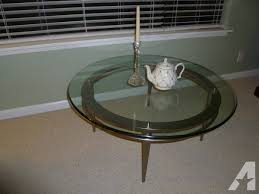ethan allen glass coffee table ethan allen glass coffee table for sale in pacifica california