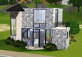 tiny modern house mod the sims small modern house