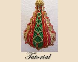 beaded ornament etsy