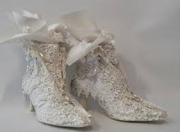 annes papercreations shabby chic lace shoes makeover