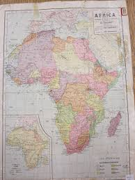 Map Of Portugal And Spain Map Of Africa Changes Of Half A Century Map Library