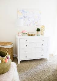 Pink Gold And White Bedroom Bedroom Reveal With Wisteria Home