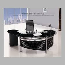 Office Executive Desk Furniture by Use Glass Furniture For A Sophisticated Look Modern Glass Desks