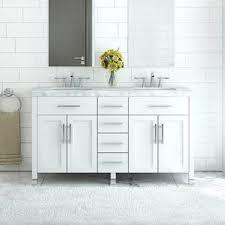 Dual Bathroom Vanity by Modern Double Bathroom Vanities Allmodern
