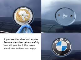 bmw emblem genuine bmw bimmerzone