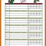 top 5 free christmas card list templates u2013 word templates excel