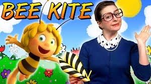 maya the bee bee kite craft crafts for kids with crafty carol