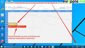 onecalendar syncs google calendars with windows 10 miapple me