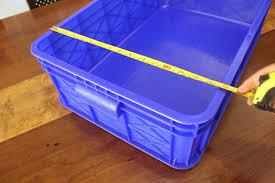Jual Keranjang Container Plastik Bekas keranjang kontainer plastik polos tipe 2291 p rak minimarket