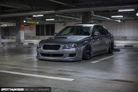 subaru wagon stance a legacy built for stance u0026 performance speedhunters