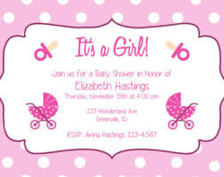 baby shower invites template best template collection