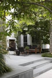 landscape architect visit a refined family garden with flexible