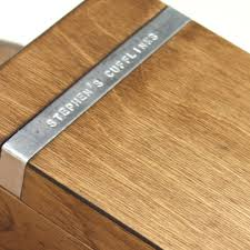 Personalized Wooden Boxes Personalised Wooden Cufflink Box Gettingpersonal Co Uk