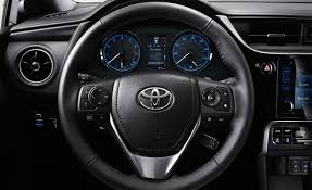 toyota steering wheel 2017 toyota corolla features