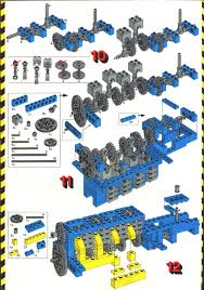 lego technic pieces lego car chassis instructions 853 technic