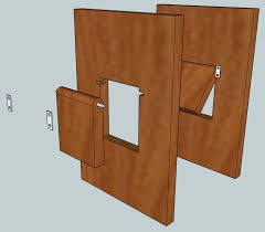 How To Build A Cabinet Box by Best 25 Pet Door Ideas On Pinterest Dog Rooms Ti And Tiny Kids