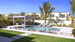 Pool Landscape Pictures by Exterior Swimming Pools And Landscaping In Dubai