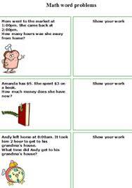 1st grade word problem worksheets worksheets