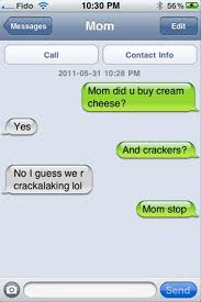 35 Hilarious Funny Texts Messages - 35 funny texts from parents bacon wrapped media funny