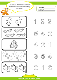 printable preschool worksheet printable numbers tracing worksheet