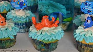 finding dory ocean water cupcakes