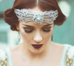 1920 bridal hair styles gatsby style 1920s wedding inspiration part 1