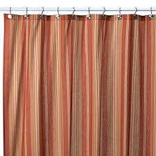 Shower Curtains Bed Bath And Beyond Baja Stripe Tuscan 72 Inch X 72 Inch Fabric Shower Curtain Bed