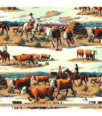home on the range cotton fabric joann