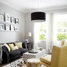 White And Black Living Room Home Design Ideas - Black and white family room
