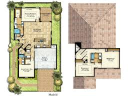 country farm 4 bedroom homes plans single floor front porch